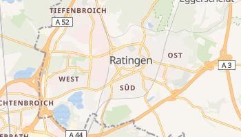 Ratingen online map