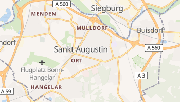 Sankt Augustin online map