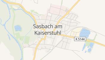 Sasbach online map