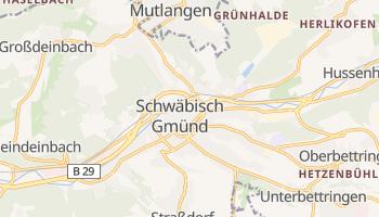 Schwabisch Gmund online map