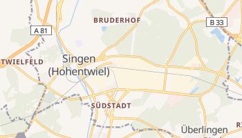 Singen online map