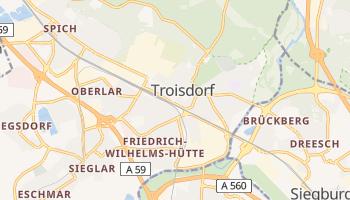 Troisdorf online map