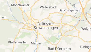 Villingen-Schwenningen online map