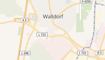 Walldorf online map
