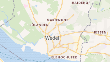 Wedel online map