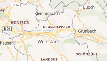 Weinstadt online map
