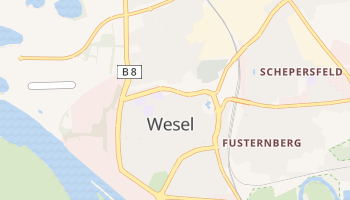 Wesel online map