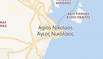 Agios Nikolaos online map