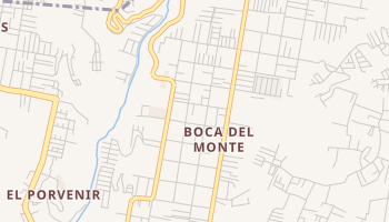 Boca Del Monte online map