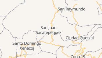 San Juan Sacatepequez online map