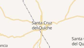 Santa Cruz Del Quiche online map