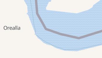 Orealla online map