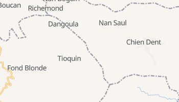 Bourdon online map