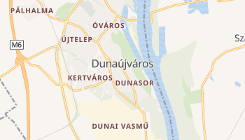 Dunaujvaros online map