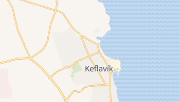 Keflavik online map