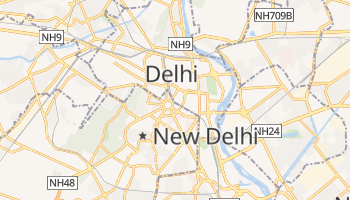 New Delhi online map