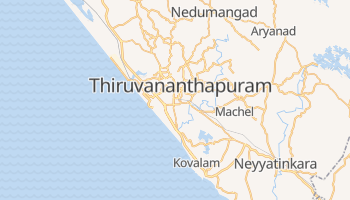 Trivandrum online map