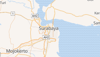 Surabaya online map
