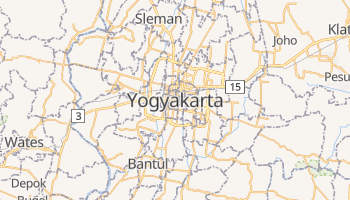 Yogyakarta online map
