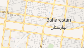 Baharestan online map