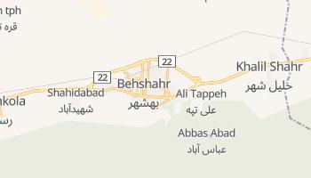 Behshahr online map