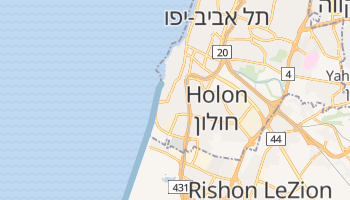 Bat Yam online map