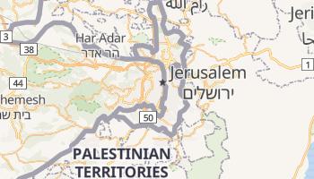 Gerusaleme online map