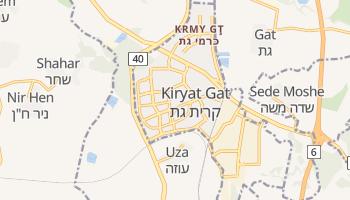 Kiryat Gat online map