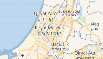 Kiryat Motzkin online map