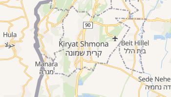 Kiryat Shemoneh online map