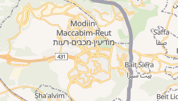 Modiin online map