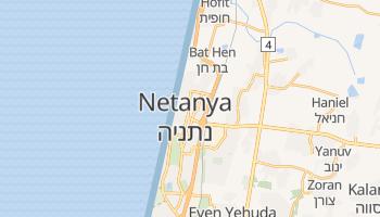 Natanya online map