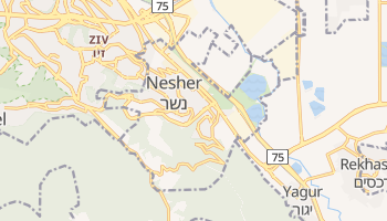Nesher online map