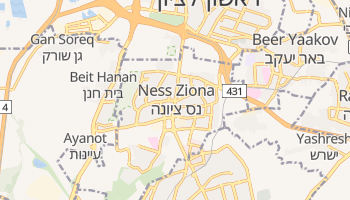 Ness Ziona online map
