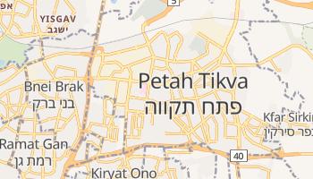 Petah Tiqva online map