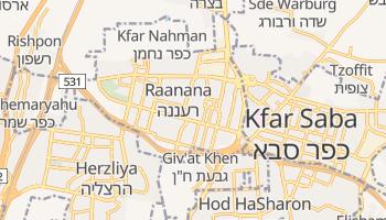 Raanana online map