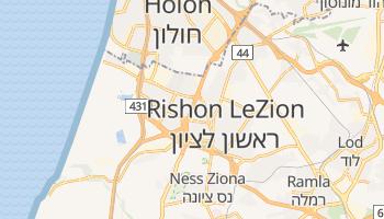 Rishon Le Zion online map
