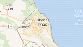 Tiberias online map