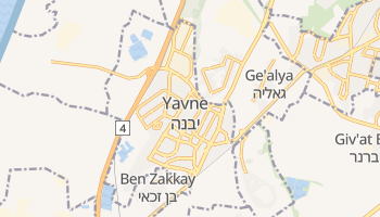 Yavne online map