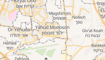 Yehud online map
