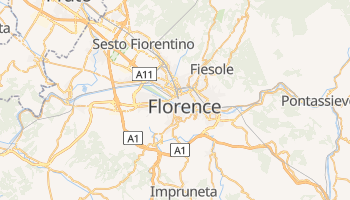 Florence online map