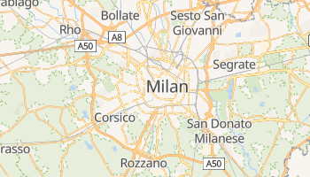 Milano online map