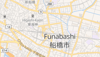 Funabashi online map