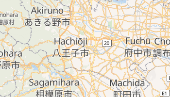 Hachioji online map