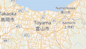 Toyama online map