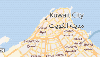 Kuwait City online map