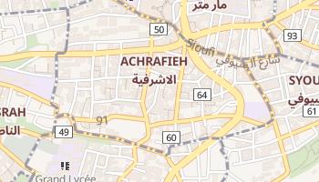 Ashrafieh online map