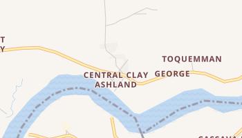Clay-Ashland online map
