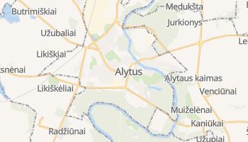 Alytaus online map