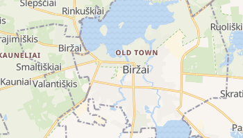 Birzai online map